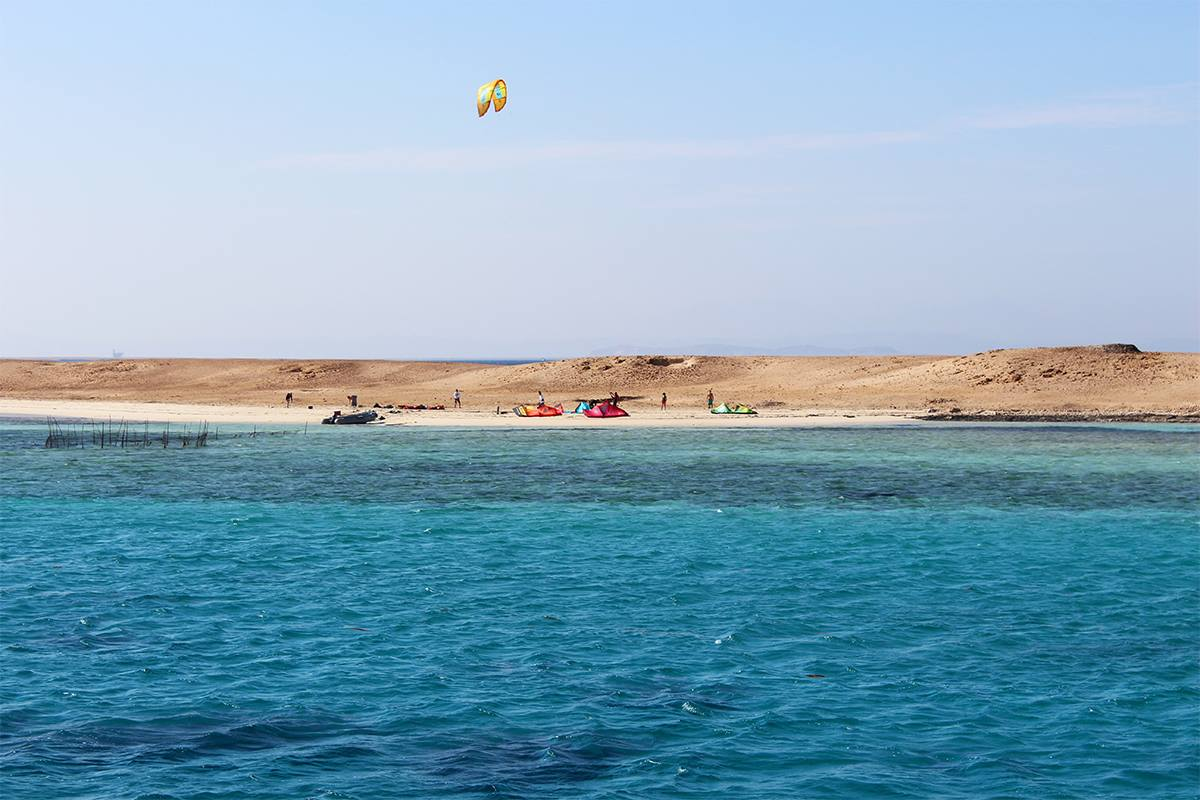 Picture from NKE's kite surfing safari Noveber 2018