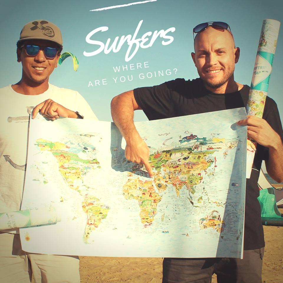 Amazing Kitesruf Destination Maps from Awesome MAps. NKE Xmas Giveaway
