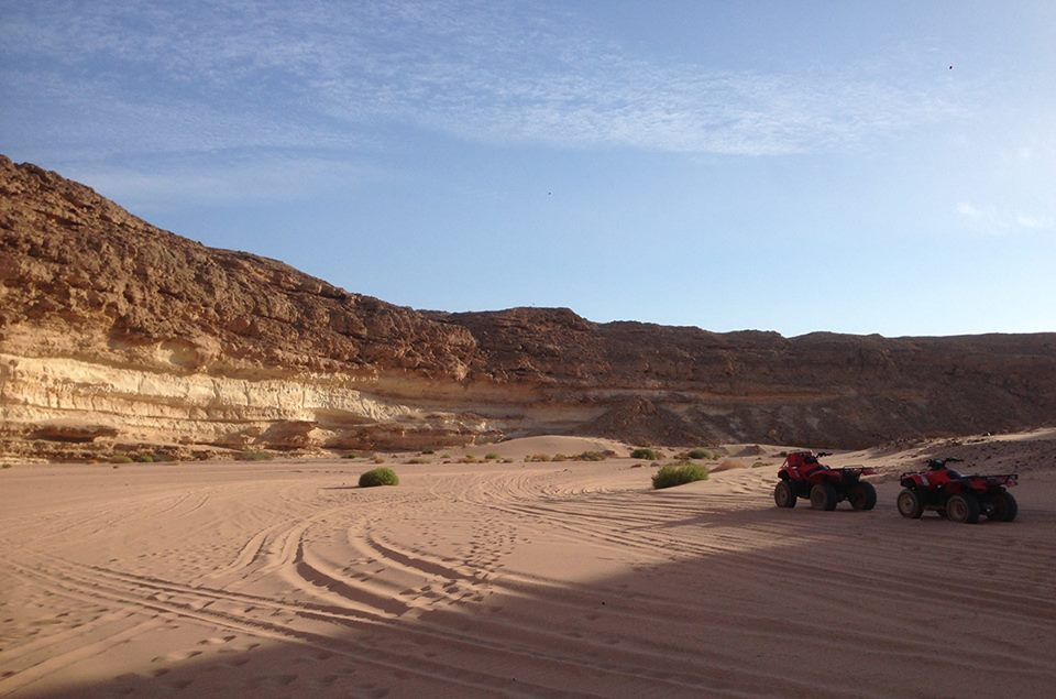 Quad Biking in the Desert, El Gouna, Egypt