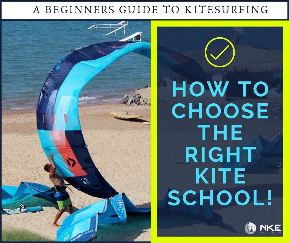 A Beginners Guide to Kitesurfing: How to Choose The Right Kitesurfing School. #kitesurfing #kiteboarding #learntokite #kitesurfingschool #watersports #elgouna #nomadkiteevents #kitelessons #kiteevents